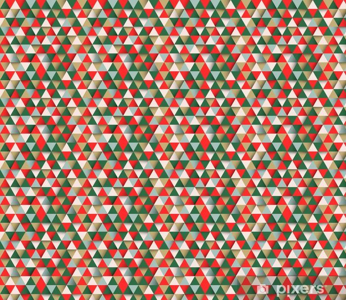 Papier peint vinyle sur mesure Vecteur triangulaire fond géométrique abstrait - Arrière plans