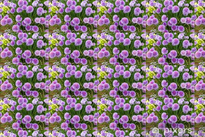 Vinyltapete nach Maß Chive flowers - Blumen