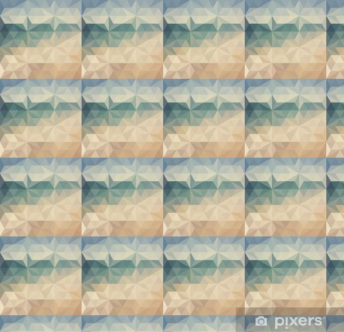 Vinyltapete nach Maß Retro Dreieck Hintergrund - Hintergründe