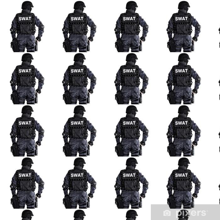 Tapeta na wymiar winylowa Oficer SWAT - Życie