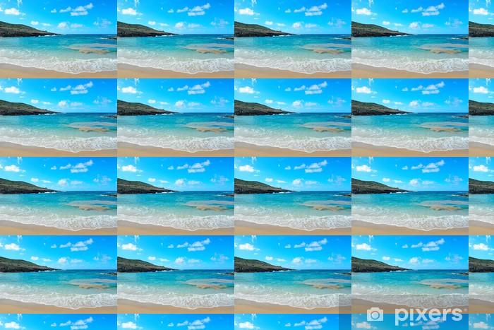 Papier peint vinyle sur mesure Bleu ciel et mer - Europe