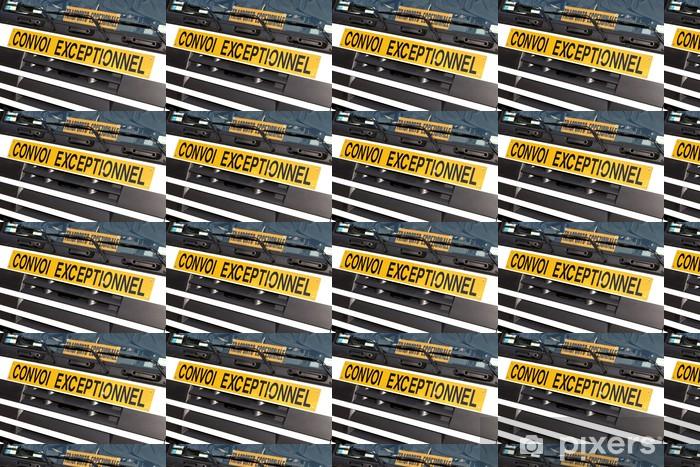 Vinyltapete nach Maß Schwertransport01 - Straßenverkehr