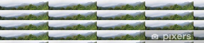 Papier peint vinyle sur mesure Vue panoramique de Panoenthung Scenic Point, - Montagne