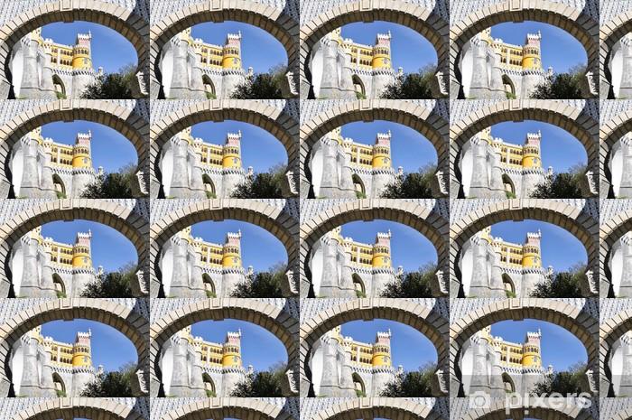 Papier peint vinyle sur mesure Palais National de Pena à Sintra, au Portugal. - Villes européennes