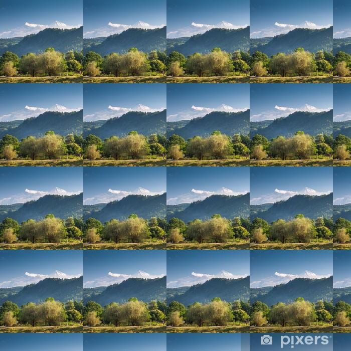 Papier peint vinyle sur mesure Magnifique paysage de montagnes de l'Himalaya - Thèmes