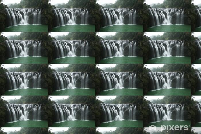 Tapeta na wymiar winylowa Wodospad - Wakacje