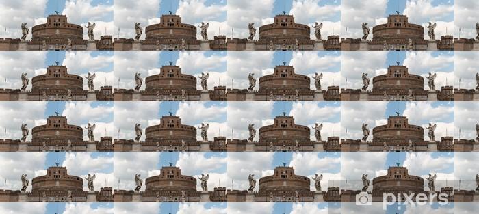 Tapeta na wymiar winylowa Castel Sant 'Angelo, Rzym - Miasta europejskie