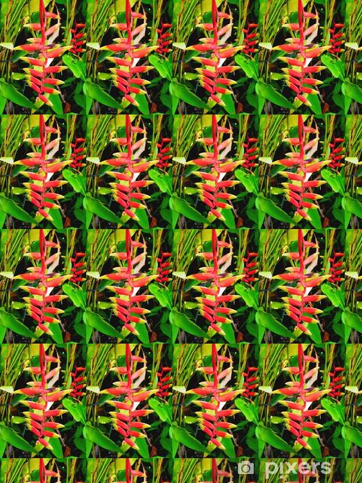 Papier peint vinyle sur mesure L'Oiseau du paradis - Maisons et jardins