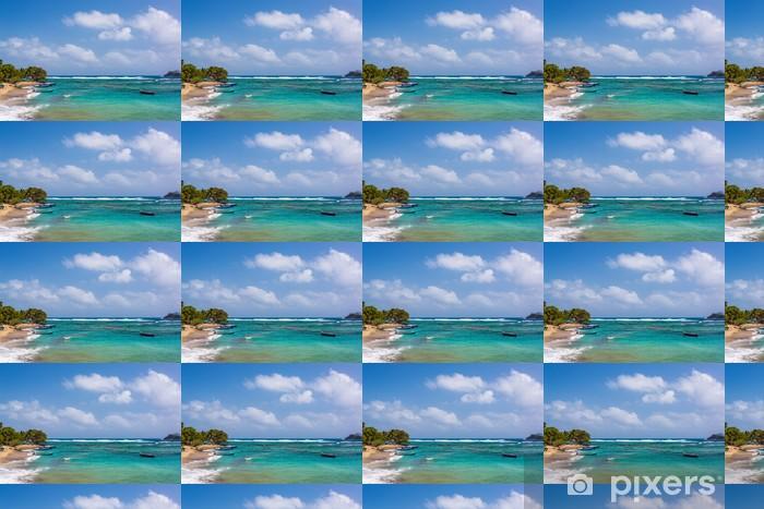 Tapeta na wymiar winylowa Piękne Karaiby wody - Ameryka