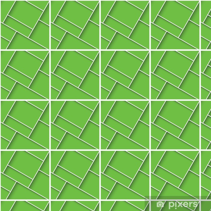 Tapete Abstract 3d Quadratischen Hintergrund Grunen Kacheln Geometrisch Vektor Nach Mass