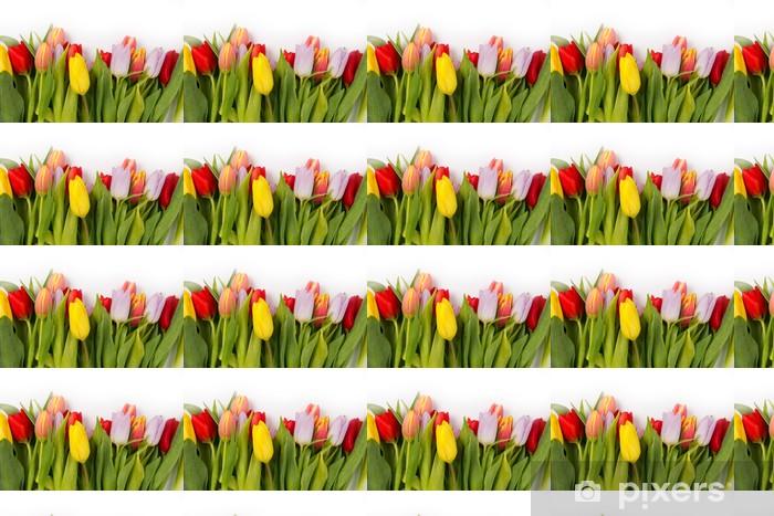 Papier peint vinyle sur mesure Tulipe bouquet - Fêtes internationales