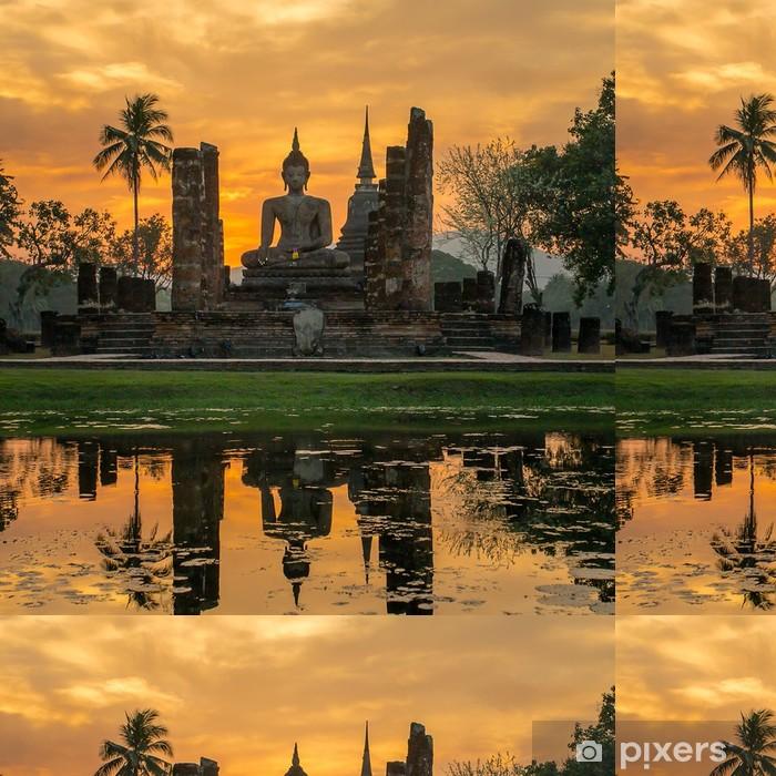 Vinylová Tapeta Socha Buddhy v chrámu Wat Mahathat chrámu, Sukhothai Historický park, - Styly