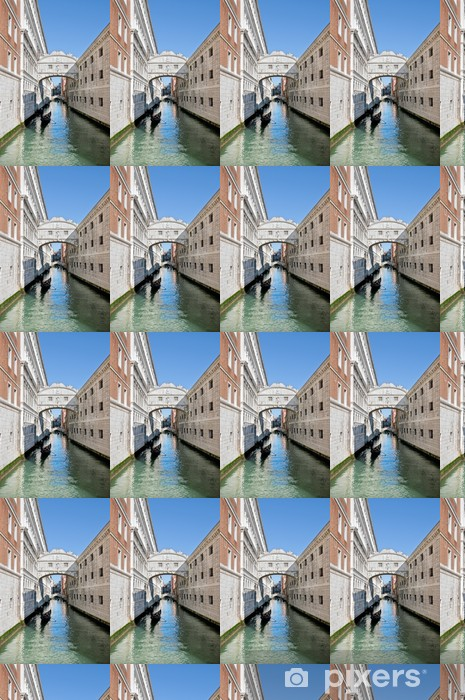 Vinylová tapeta na míru Venezia - Ponte dei Sospiri - Evropská města