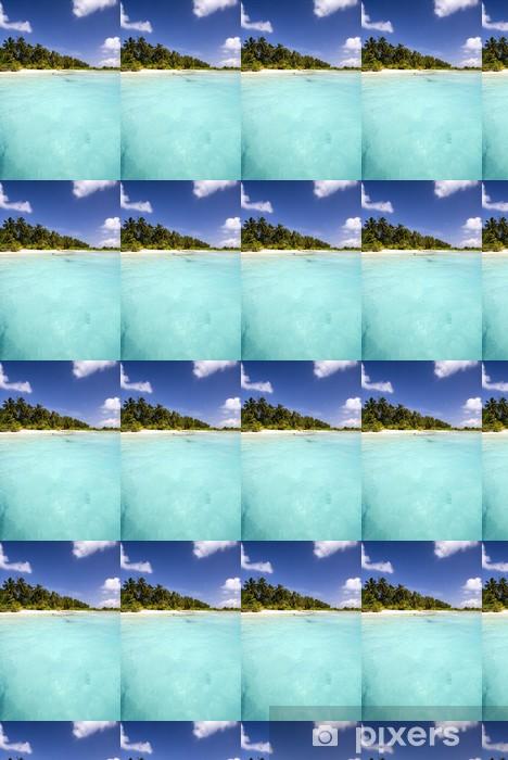 Tapeta na wymiar winylowa Turkusowe wody w Malediwy - Woda