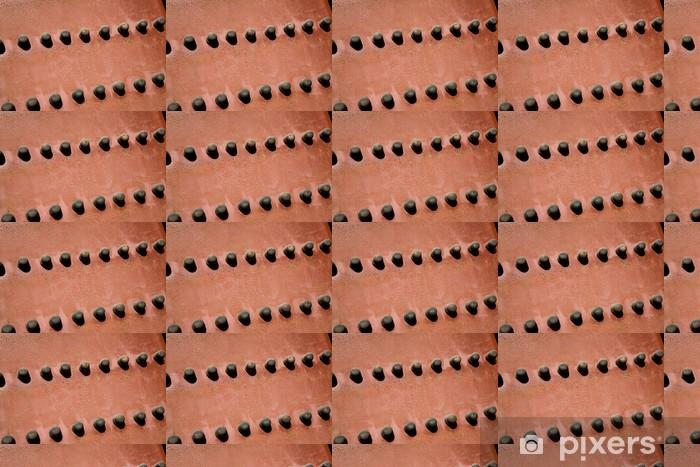 Tapeta na wymiar winylowa Starożytne czerwone drzwi świątyni w Zakazane Miasto Pekin Chiny - Zabytki