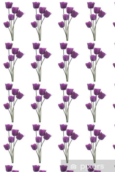 Vinyl behang, op maat gemaakt Tulip - Bloemen
