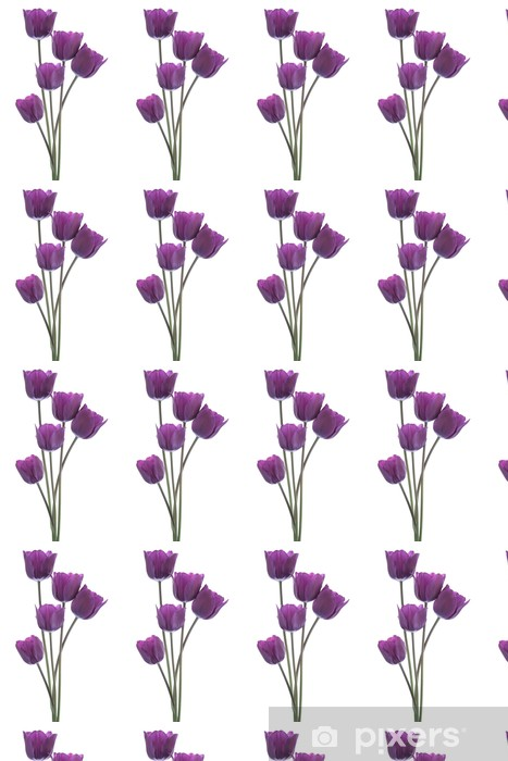 tulip Vinyl Custom-made Wallpaper - Flowers