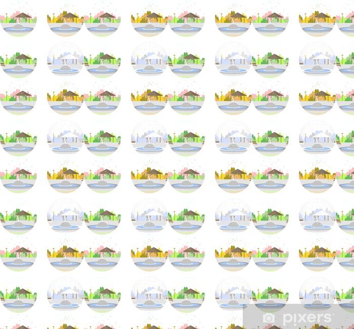 Tapeta na wymiar winylowa Spray と sezony - Pory roku