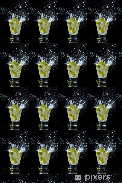 Papier peint vinyle sur mesure Mojito cocktail au club - Alcool
