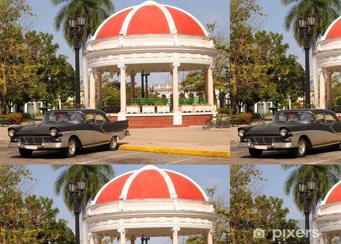 Vinylová Tapeta Náměstí Cienfuegos, Kuba - Amerika