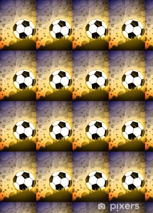 Papier peint vinyle sur mesure Soccer ou de football fond - Destin