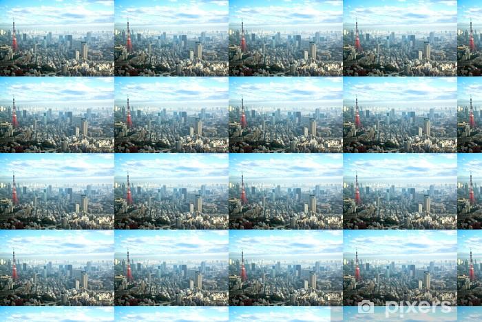 Papier peint vinyle sur mesure Tokyo tower - Villes d'Asie