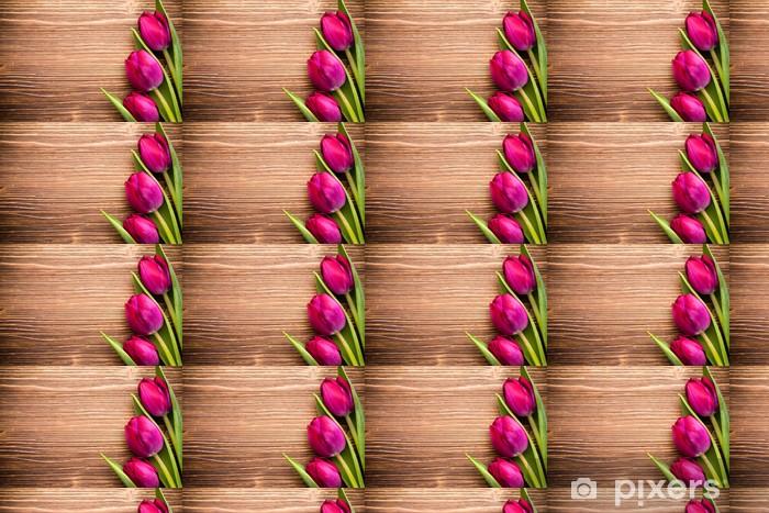 Papier peint vinyle sur mesure Tulipe - Thèmes