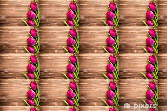 Tulip. Vinyl custom-made wallpaper - Themes