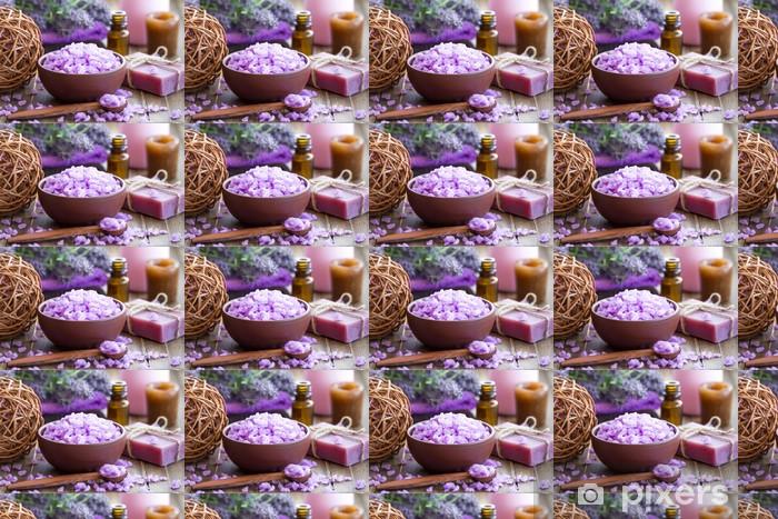 Papier peint vinyle sur mesure Lavender spa - Thèmes