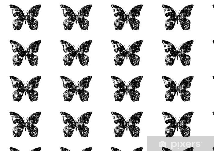 Tapeta na wymiar winylowa Winobrania wygląd kształt motyla - Inne Inne
