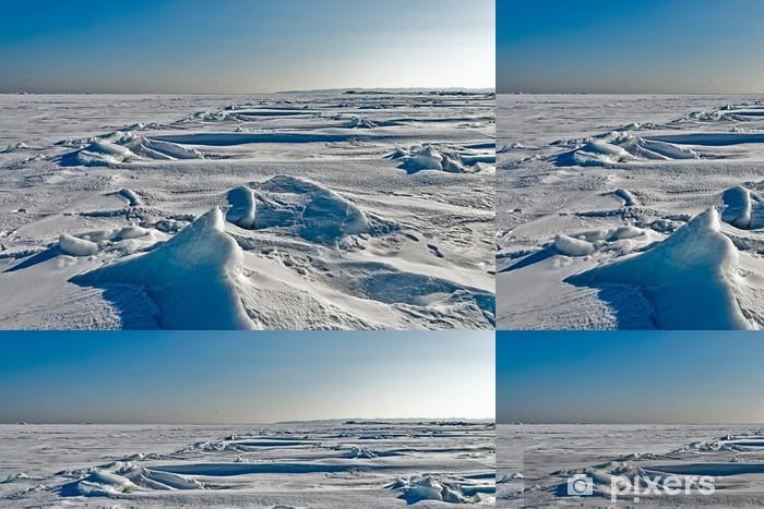 Vinyl Behang De aard van het Russische eiland Sakhalin. - Eilanden