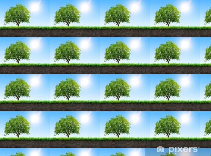 Tapeta na wymiar winylowa Charakter tle - Drzewa