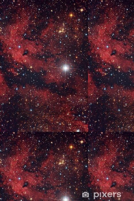 Vinylová Tapeta Red mlhovina na obloze - Témata