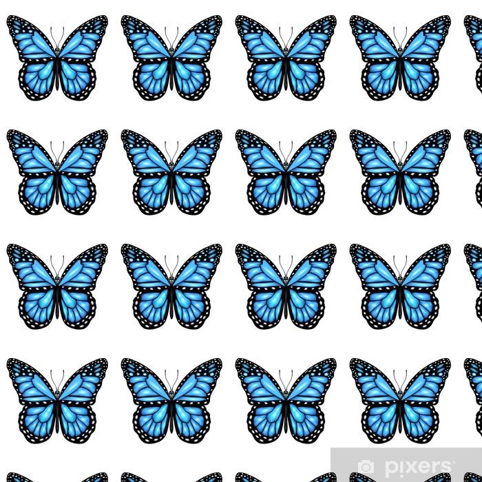 Vinylová tapeta na míru Blue Butterfly - Roční období