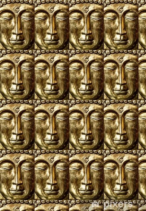 Papier peint vinyle sur mesure Bouddha d or - Thèmes