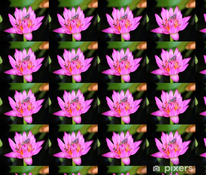 Vinyltapete nach Maß Lotus - Blumen