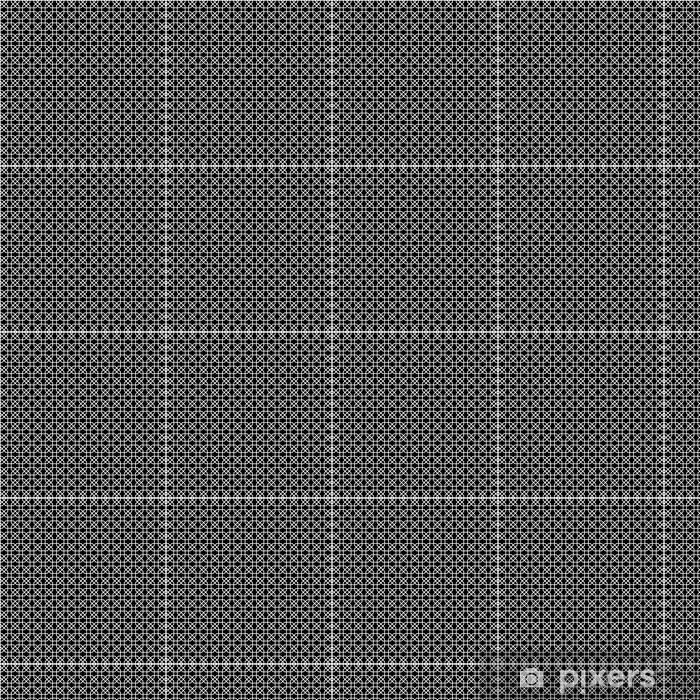 Papier peint vinyle sur mesure Motif géométrique noir et blanc. - Arrière plans