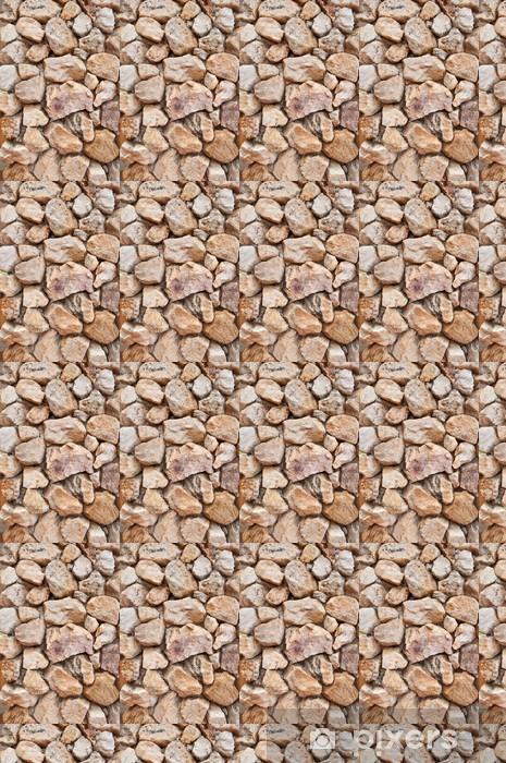 Vinyl behang, op maat gemaakt Stenen muur achtergrond textuur - Texturen