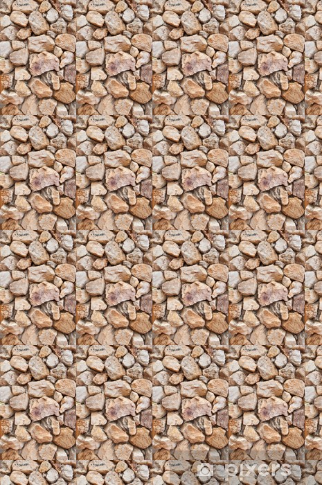 Papel pintado estándar a medida Muro de piedra de la textura de fondo - Texturas