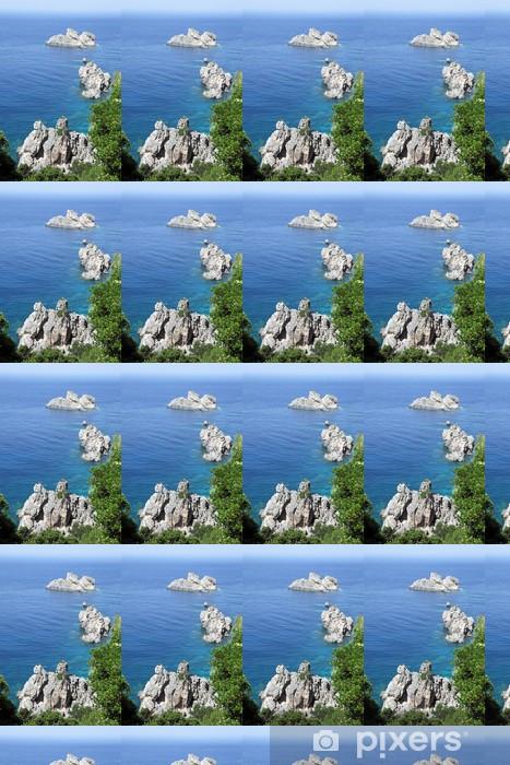 Seascape near Paleokastritsa. Corfu Island, Greece. Vinyl custom-made wallpaper - Nature and Wilderness