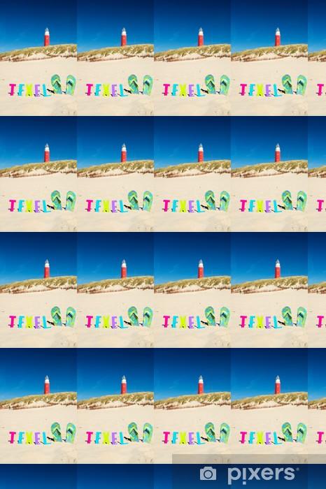 Papier peint vinyle sur mesure Île de Texel - Vacances
