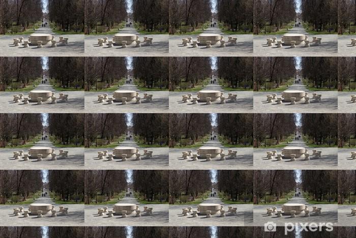 Constantin Brancusi complex – Targu-Jiu, Romania Vinyl custom-made wallpaper - Monuments