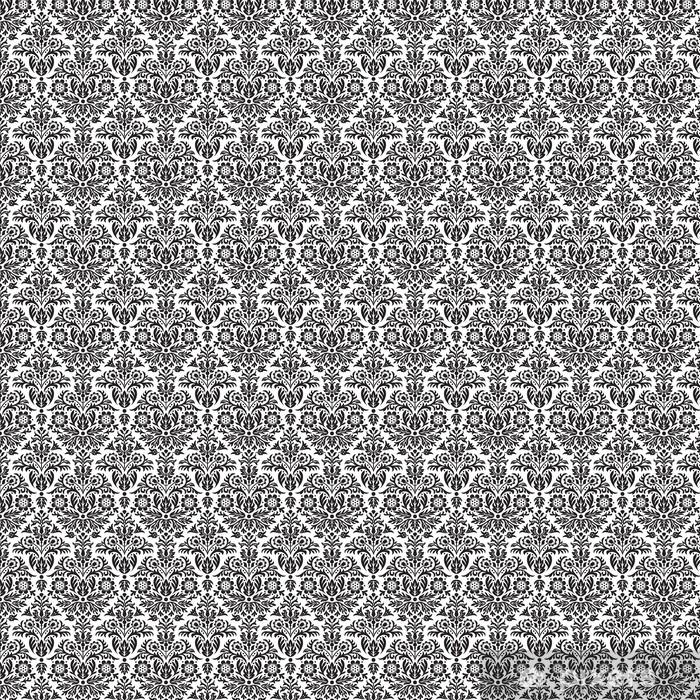 Tapeta na wymiar winylowa Adamaszek bezszwowe kwiatowy wzór tła - Tematy