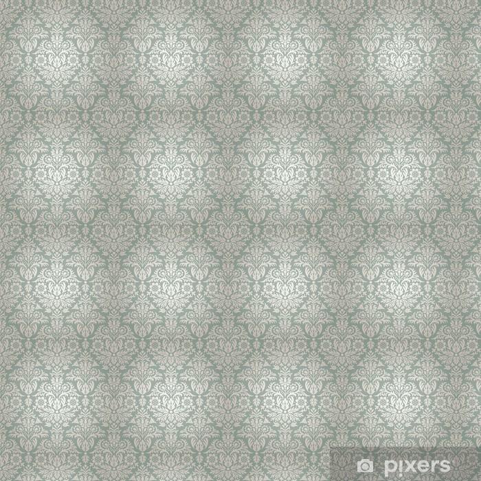 Papel pintado estándar a medida Modelo del damasco floral de fondo sin fisuras - Estilos
