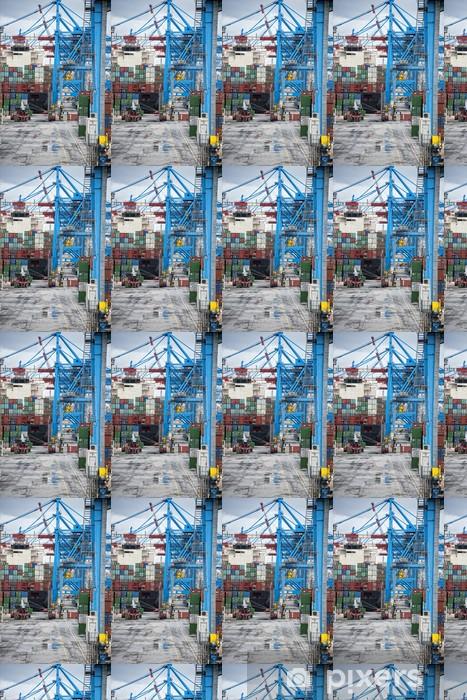 Vinyltapete nach Maß Hafen Arbeitsplatz - Infrastruktur