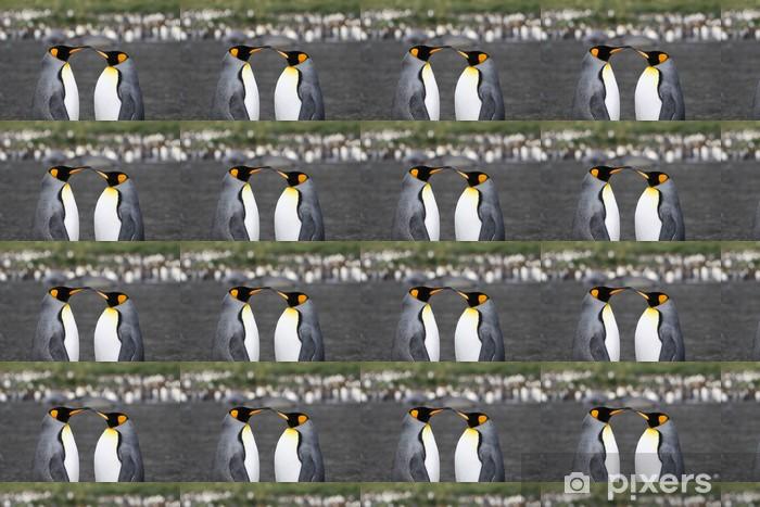 Papier peint vinyle sur mesure Pinguine - Bonheur
