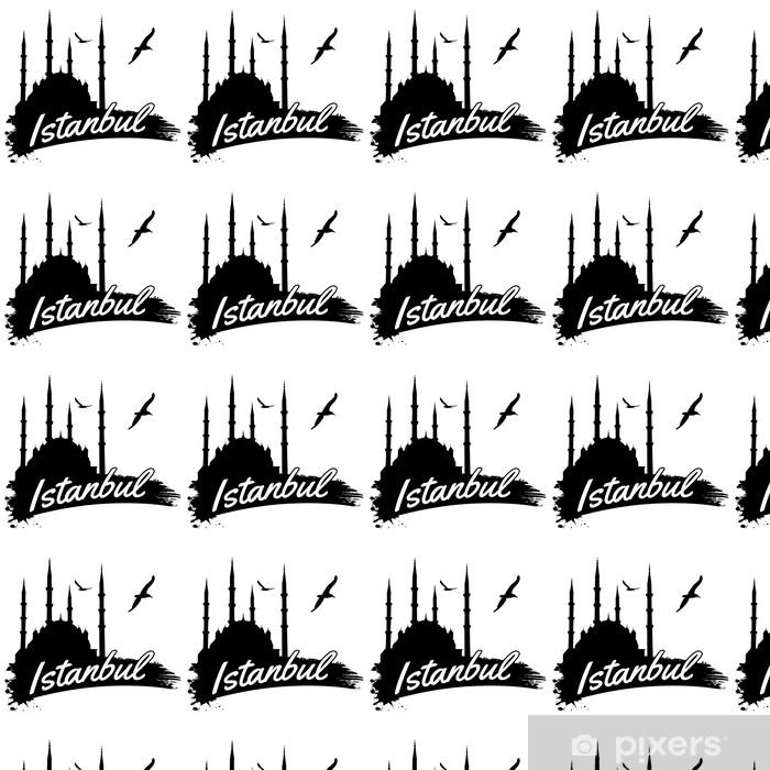 Papier peint vinyle sur mesure Affiche Istanbul - Arrière plans
