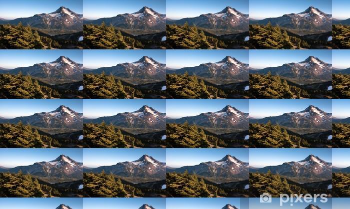 Papier peint vinyle sur mesure Mt. Jefferson Park Oregon Cascade Range Mountian randonnée - Amérique