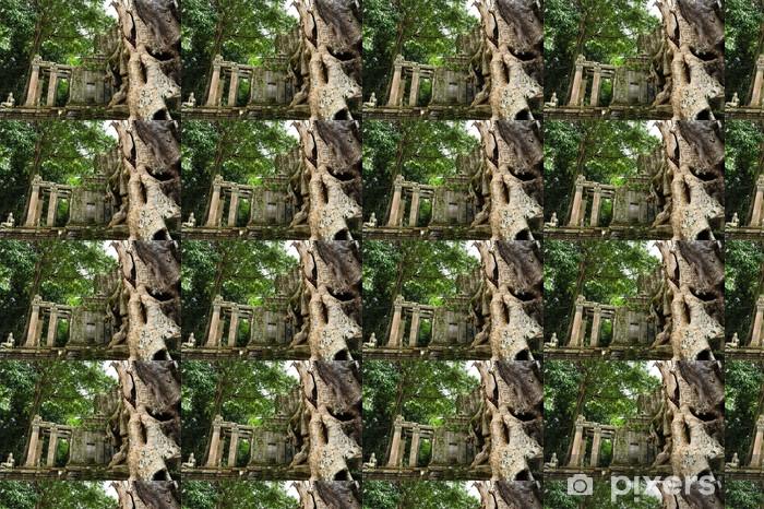 Tapeta na wymiar winylowa Ruiny świątyni Angkor w Kambodży - Azja