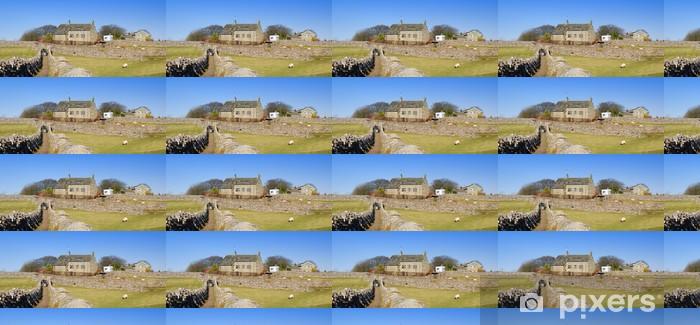 Papier peint vinyle sur mesure Vue panoramique de Yorkshire Dales scène. - Europe